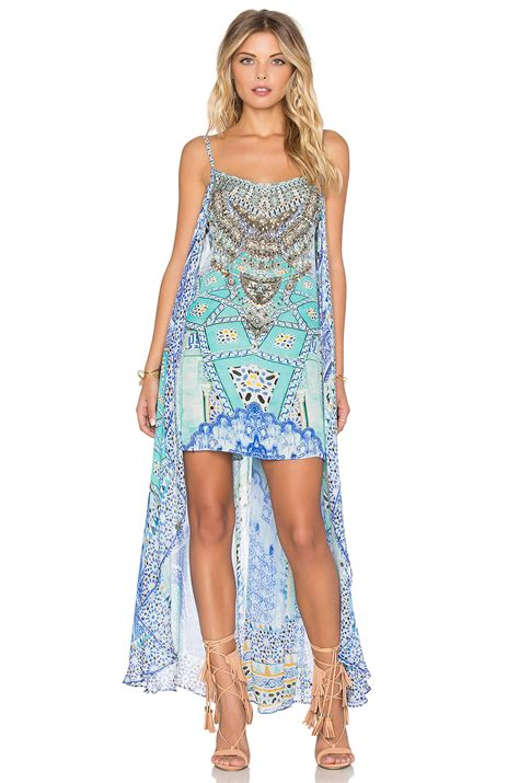 Mini Dress With Overlay camilla overlay mini dress shop your way