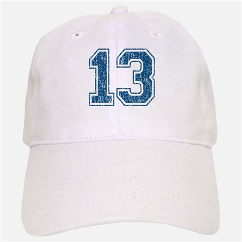 number 13 hats trucker baseball caps snapbacks