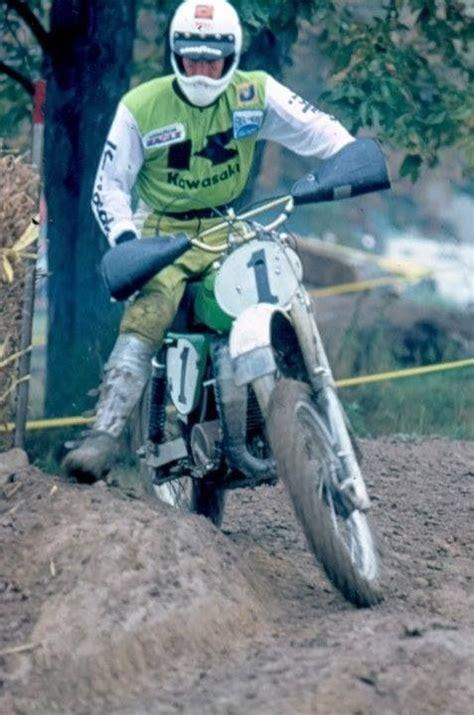 Kawasaki Motocross Riders by Kawasaki Motocross Rider Jim Weinert 1975 1976 Vintage