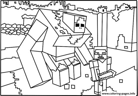 minecraft guy coloring page minecraft coloring big guy coloring pages printable