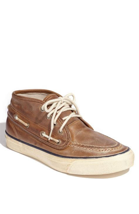 sperry boot sperry top sider seamate chukka boot in brown for