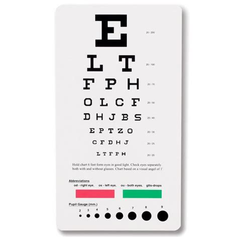 printable eye test chart australia pocket snellen eye chart 3909