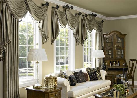 Window Treatments For Living Room And Dining Room by Sewing Curtain Ideas Dining Room Curtains And Window