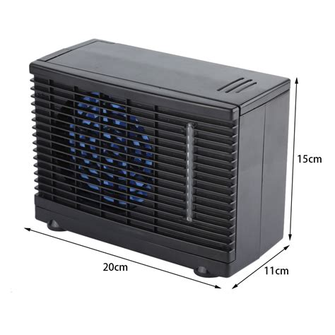 fluid cooler with fan 12v portable evaporative mini air conditioner home car