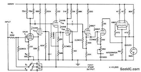 integrator circuit with reset integrator circuit with reset integrator wiring diagram and circuit schematic