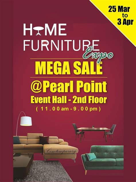 pearl point shopping mall home furniture expo mega sale