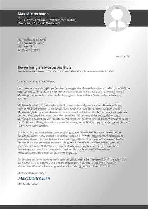 Moderne Bewerbungsanschreiben Vorlagen bewerbungsanschreiben vorlagen muster kostenlos