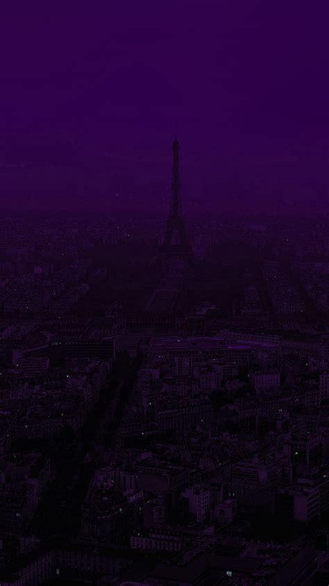 papersco iphone wallpaper bb paris dark purple city
