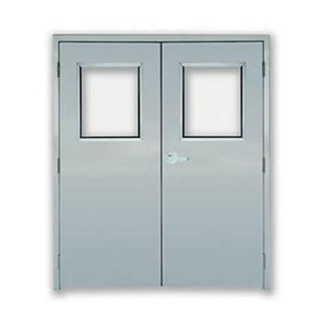 double swing fire doors fire rated both commercial doors overhead garage doors