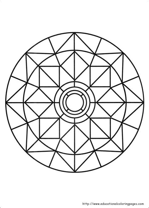 mandala coloring pages for kindergarten mandalas coloring pages free for