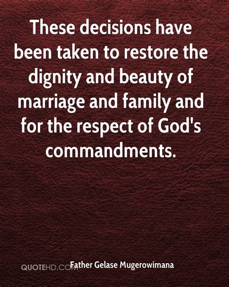 Dignity of marriage handbook