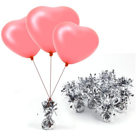 12 x unique helium balloon weights iridescent foil wedding birthday party event ebay