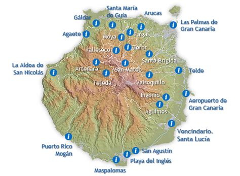 Puntos De Informaci 243 N Tur 237 Stica En Gran Canaria Carte Prépayée Bureau De Tabac