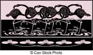 Flat Shoes Emorie Thuraya flamingo illustrations and clip 48 flamingo royalty free illustrations