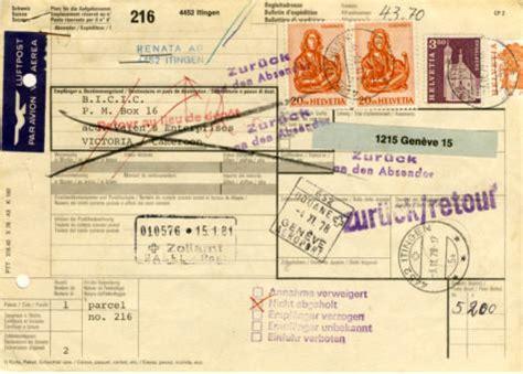 Brief Schweiz Wie Lange Ausgefallene Und Kuriose Briefe Sammeln