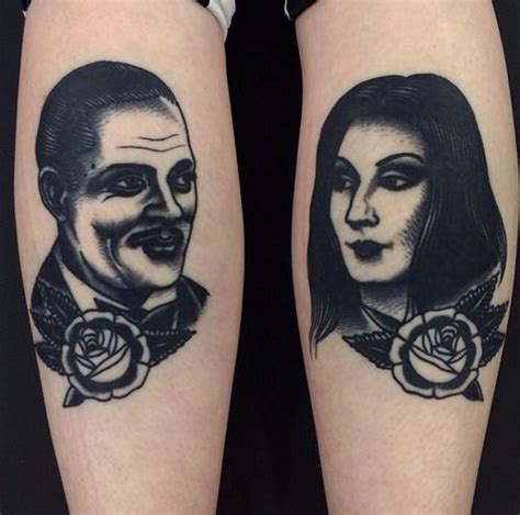 tattoo portraits leeds 50 best images about addams family tattoos on pinterest