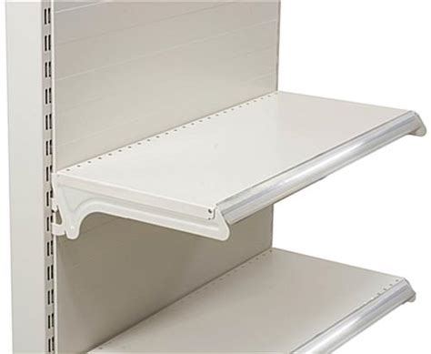 Gondola Shelf Accessories by Gondola Shelving Accessories Clear Plastic Price Slot