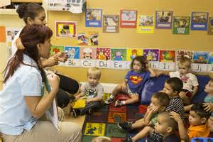 daycare preschool teachers who working with