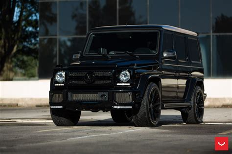 mercedes g class blacked out custom mercedes g class gets blacked out with style