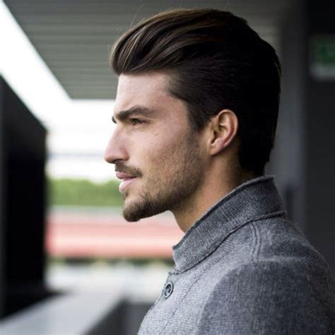 mens hair cuts with pushed bach over ears 55 coolest long hairstyles for men men hairstyles world
