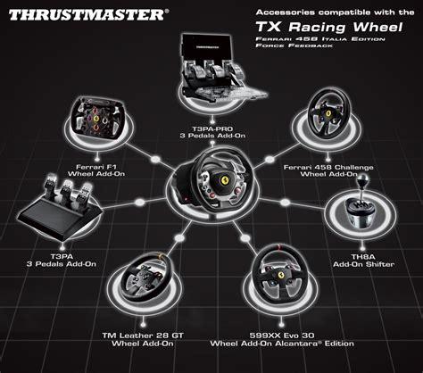 tx racing wheel 458 thrustmaster tx racing wheel 458 italia edition