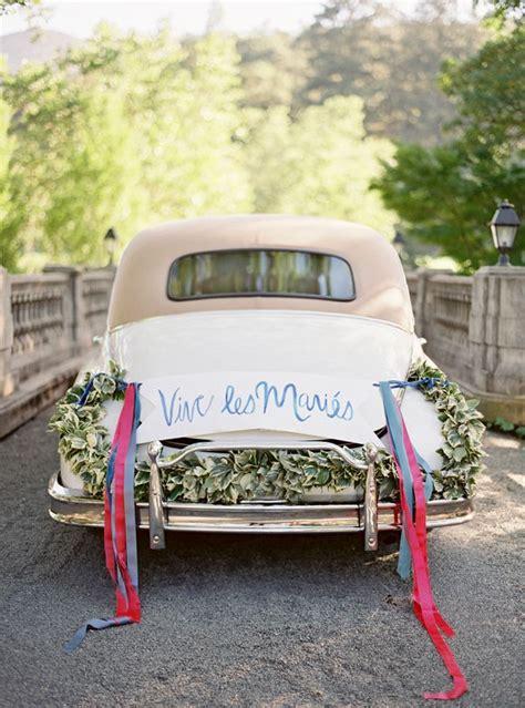Wedding Car Ideas by Getaway Wedding Cars Wedding Getaway Car Decorations