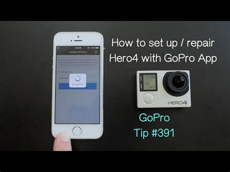 connect gopro to iphone how to set up pair hero4 with gopro app gopro tip 391