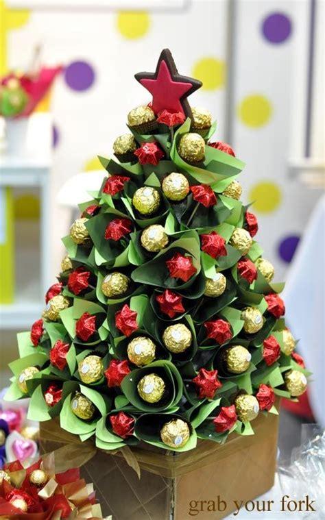 ferrero rocher and chocolate christmas tree pinteres