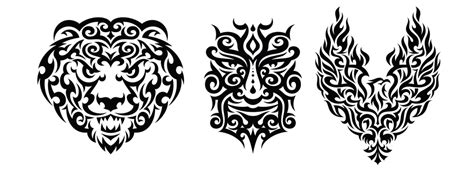 glitschka studios tribal design