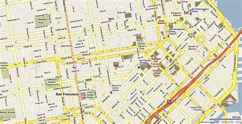 san francisco neighborhood map tenderloin tenderloin san francisco map