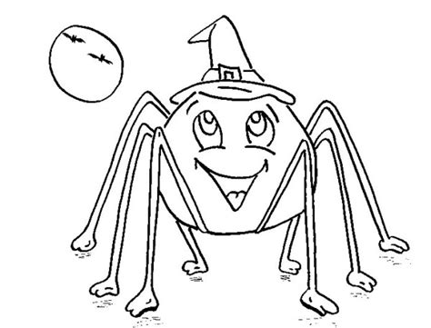 coloring pictures of halloween spiders halloween spider coloring pages festival collections