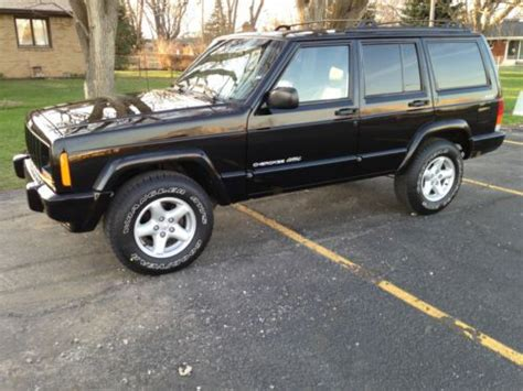 old car repair manuals 2001 jeep cherokee seat position control buy used 2001 jeep cherokee classic 4x4 4door leather seats only 58 000 original miles in
