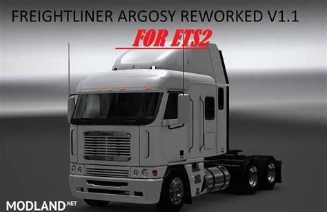 freightliner argosy reworked   mod  ets