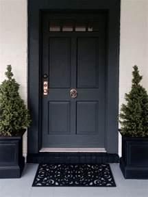Front Door Black 25 Best Black Front Doors Ideas On Black Exterior Doors Front Door And Black Door