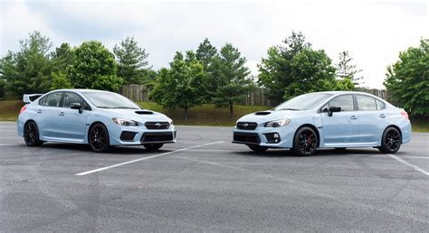 gray subaru wrx 2019 subaru wrx and wrx sti series gray revealed