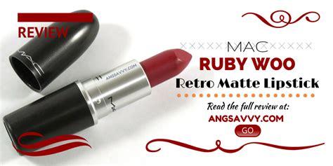mac ruby woo lipstick matte reviews mac ruby woo lipstick review ang savvy