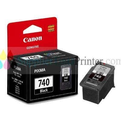 Tinta Printer Canon 740 Black canon black ink cartridge pg 740