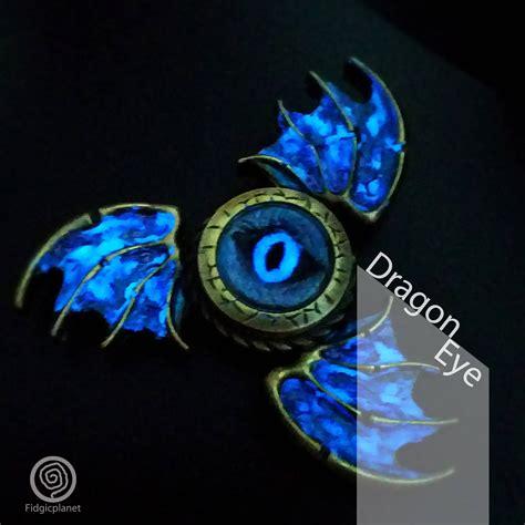 Fitged Spinner Dragons Metal Steel Edc Metal Fidget Spinner Luminous Eye