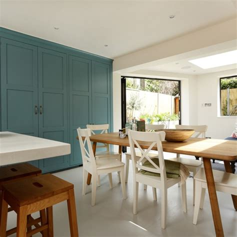 white and teal kitchen housetohome co uk