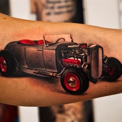 hot rod tattoo rod ideas awesome