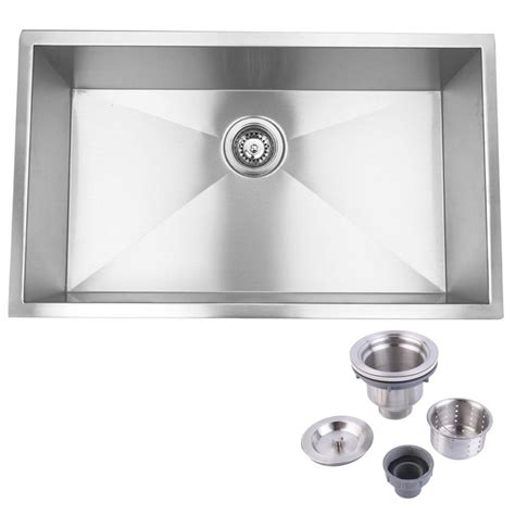 home decor stainless steel kitchen appliances y decor 32 in and 19 in 0 hole undermount stainless