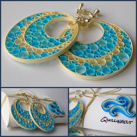 How To Make Jewellery From Paper - quilling lt auskarai m范lyna cubs club