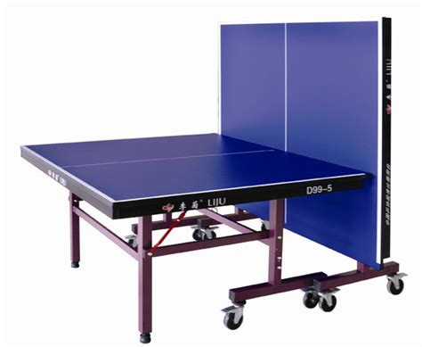 Folding Table Tennis Table China Single Folding Table Tennis Table For International Match D99 5 China 25mm Mdf Indoor