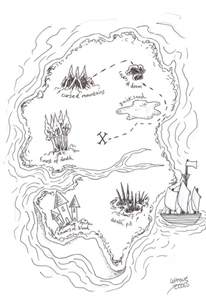 How To Draw A Map how to draw a pirate treasure map