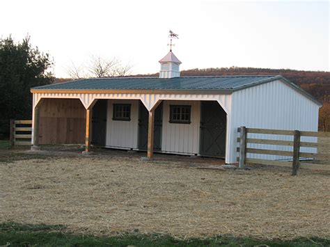 Shed Barns For Sale Lean To Barn With Enclosed Gables