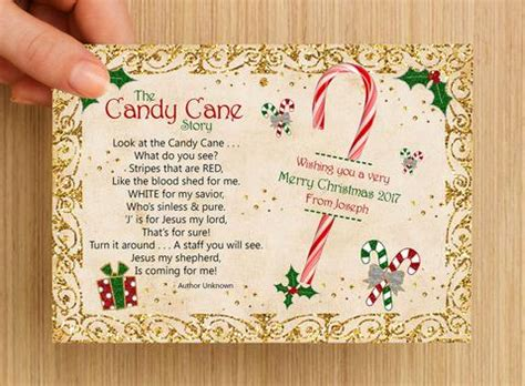 give  candy cane   printable