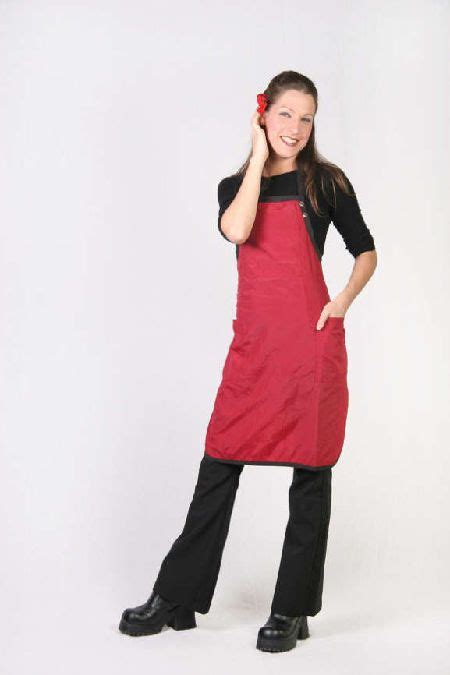 personalized stylist capes and aprons personalized nylon red apron embroidered with your
