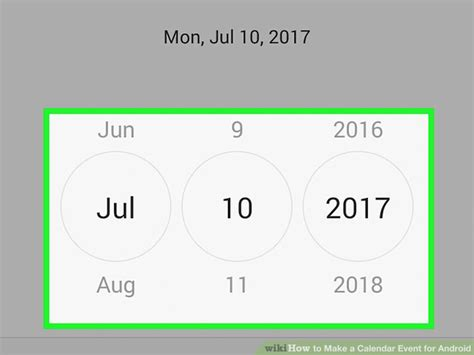 how to make a calendar event on how to make a calendar event for android with pictures