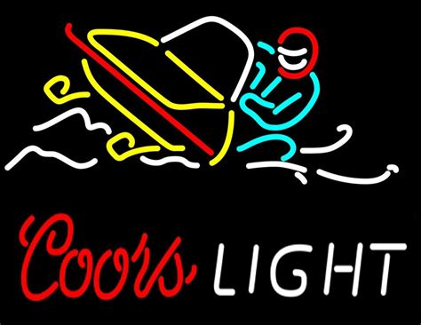 coors light neon sign coors light snowmobile neon sign neon