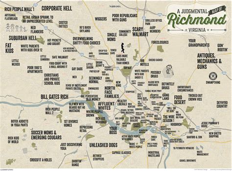show me a map of virginia judgmental maps richmond va by benhaus design copr 2015